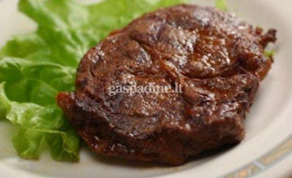 Vyne marinuota mėsa