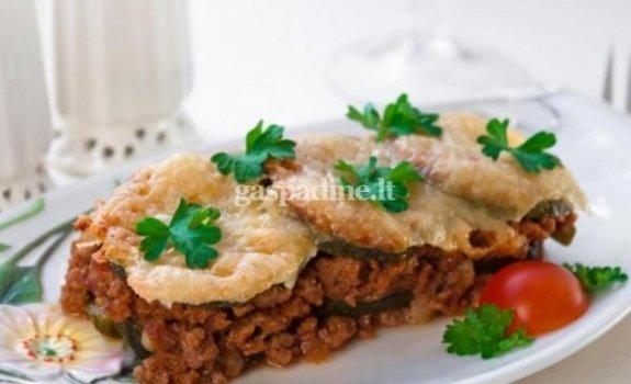 Cukinijos ir maltos mėsos užkepėlė