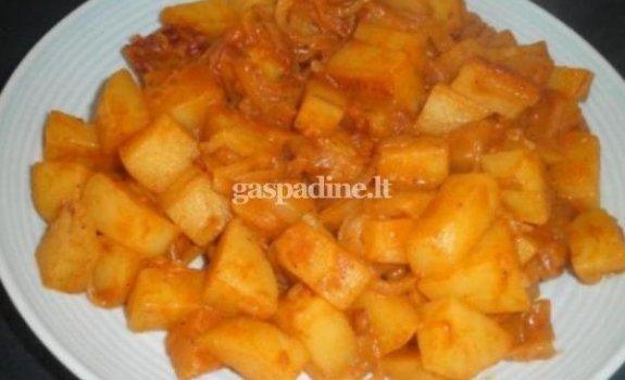 Gardžiosios bulvės