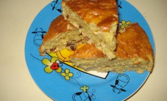 Avžinių dribsnių pyragas