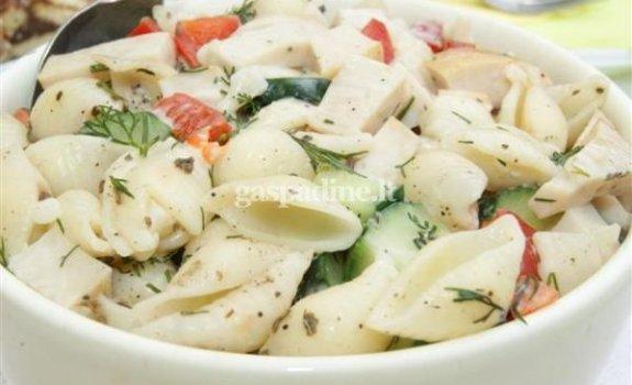 Gaivios makaronų salotos
