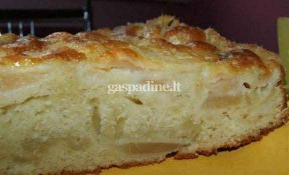 Paryžietiškas obuolių pyragas