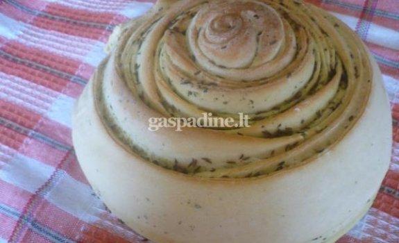 Provanso žolelių duonelė