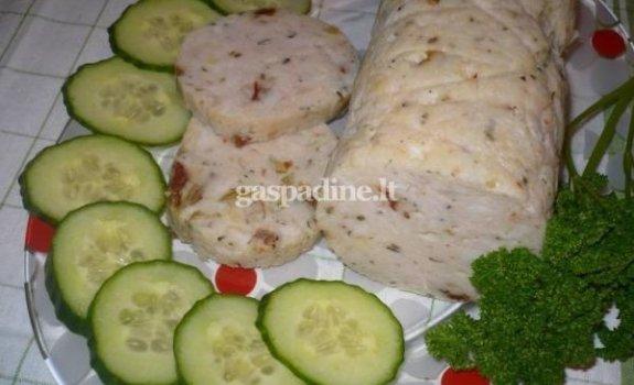 Vištienos dešra – Salchichon de pollo