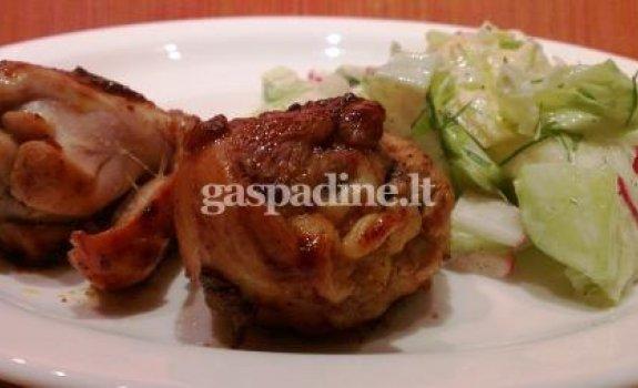 Vištienos kulšelės imbiero marinate
