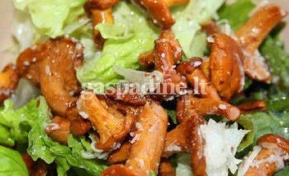 Voveraičių salotos