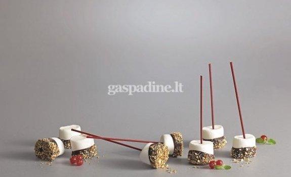 Zefyrai šokolade