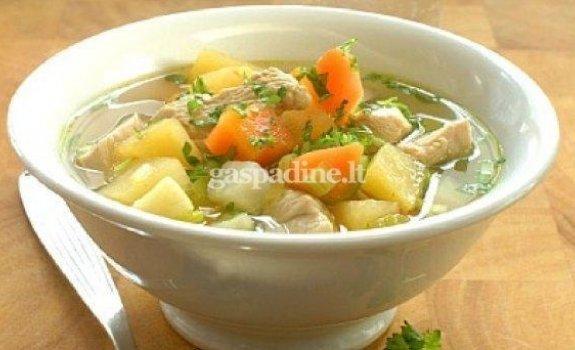 Norvegiška daržovių sriuba