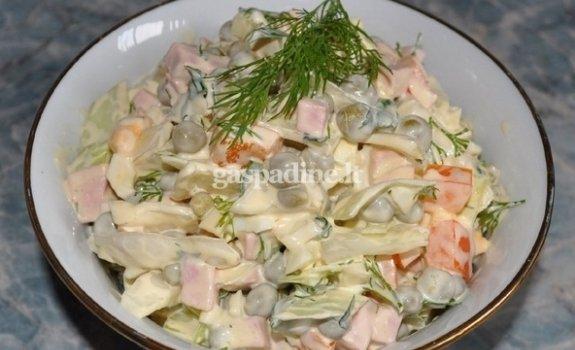 Kopūstų salotos