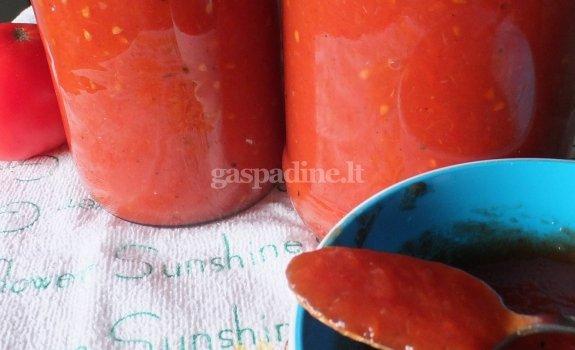 Pomidorų padažas su paprika