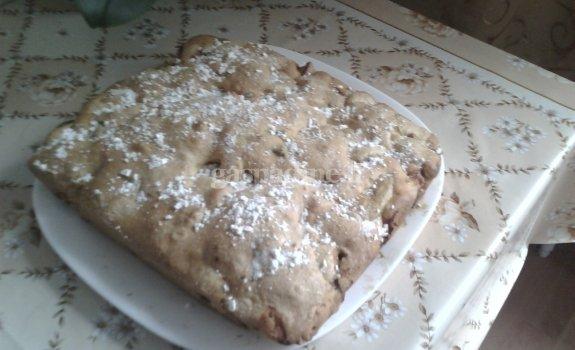 Greitas ir paprastas obuolių pyragas