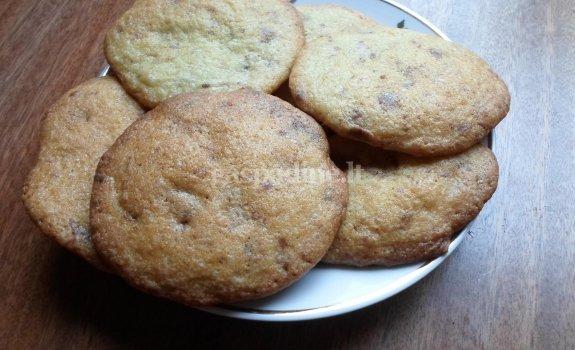Sausainiai su šokolado gabaliukais