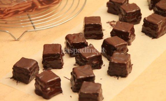 Želiniai saldainiai šokolade