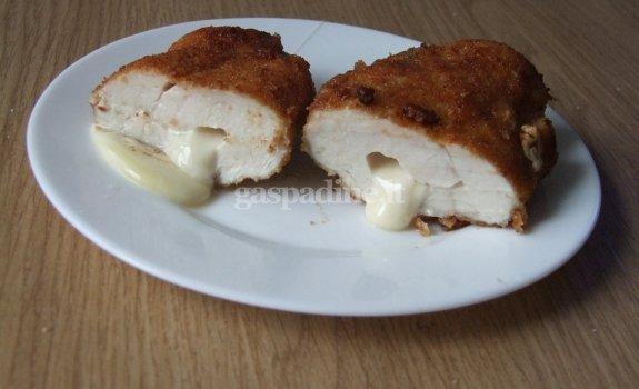 Vištienos filė įdaryta sūriu