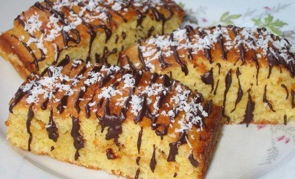 """Abrikosinis pyragas """"Viktorija"""""""