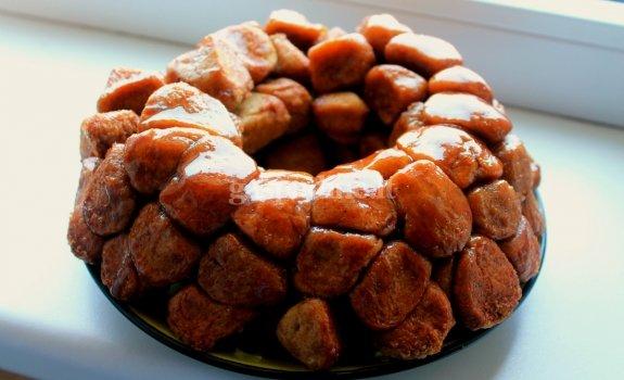 Beždžionėlių duona - pyragas