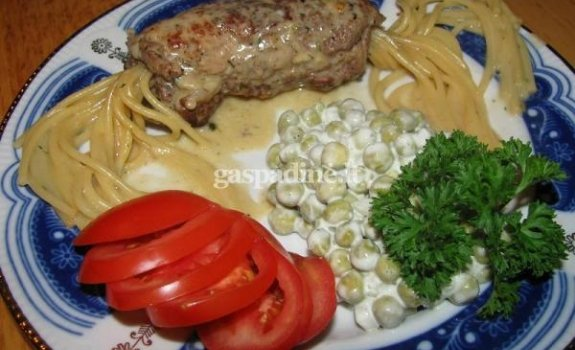 Suktinukai su spagečiais