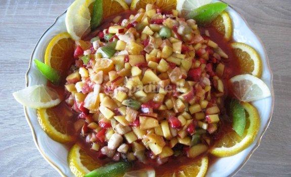 Vaisių salotos
