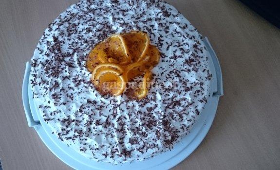 """Tortas """"Apelsininis"""""""