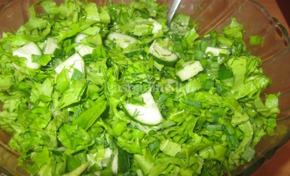 Žalios salotos