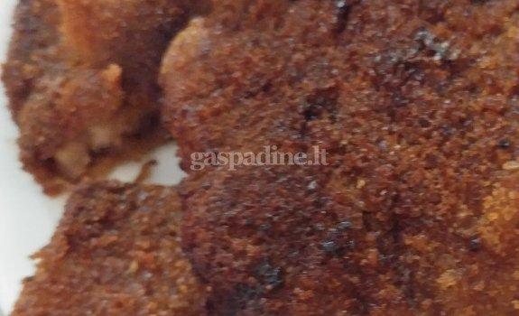 Kiaulienos kepsnys su baltuoju padažu