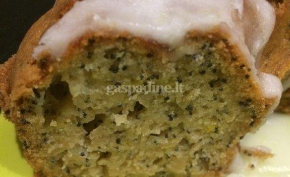 Desertinis cukinijų pyragas