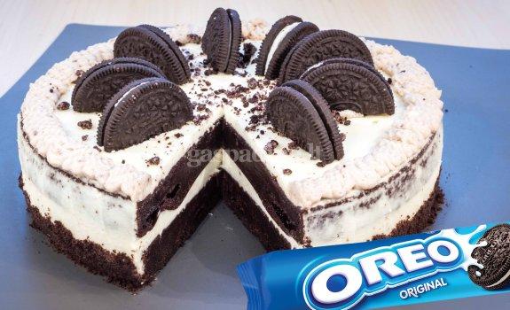 """""""Oreo"""" sausainių tortas"""