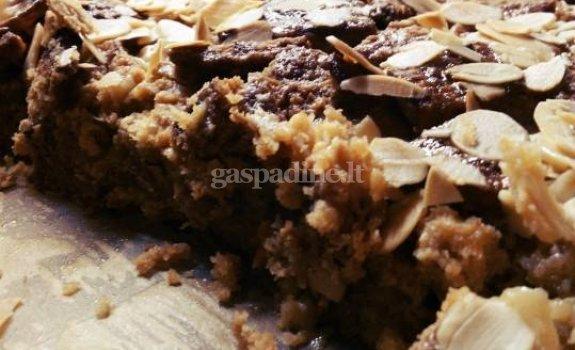 Selga sausainių pyragas