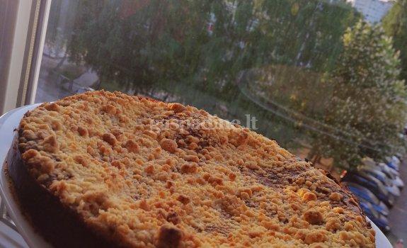 Trupininis varškės pyragas