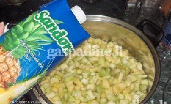 Ananasinės cukinijos