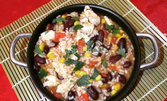 Meksikietiška vištiena