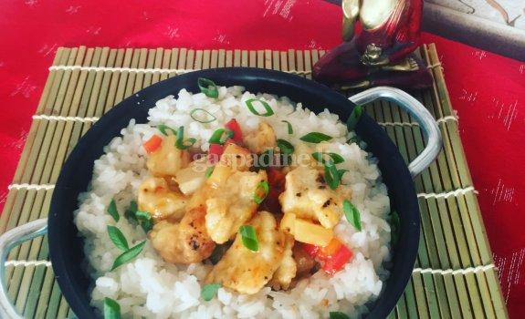 Tailandietiškai paruošta vištiena