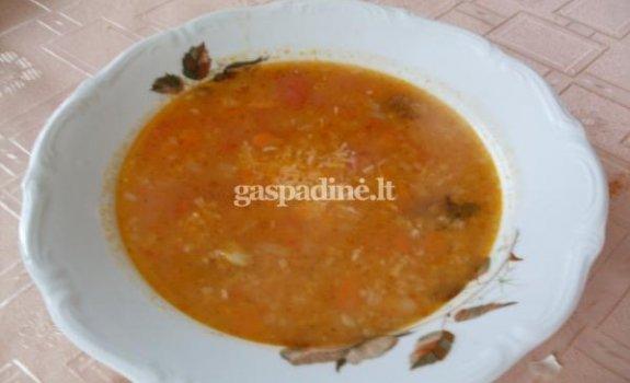Itališka daržovių sriuba