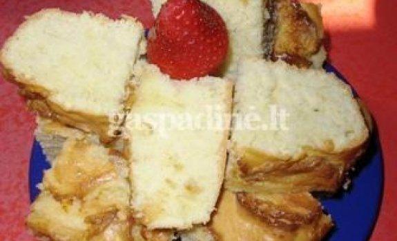 Smurfiukų pyragas