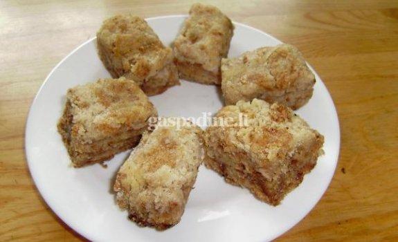 Paprastas Kristinos obuolių pyragas