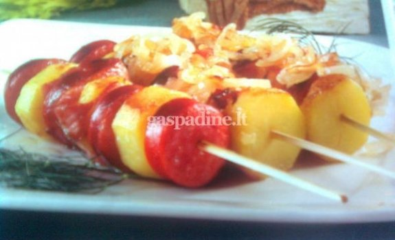 Dešrelių ir bulvių vėrinukai