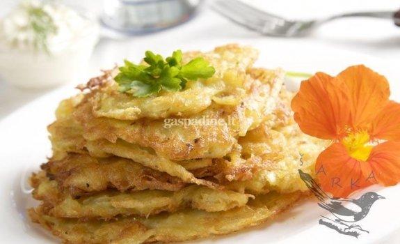 Bulviniai blynai slovakiškai