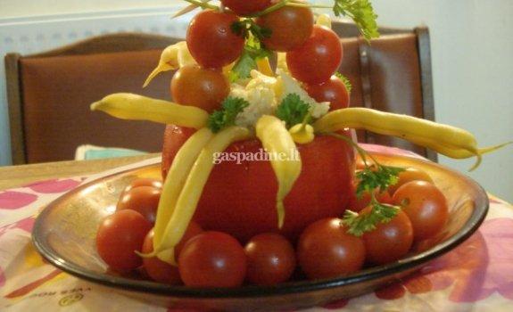 Rudeninis daržovių krepšelis
