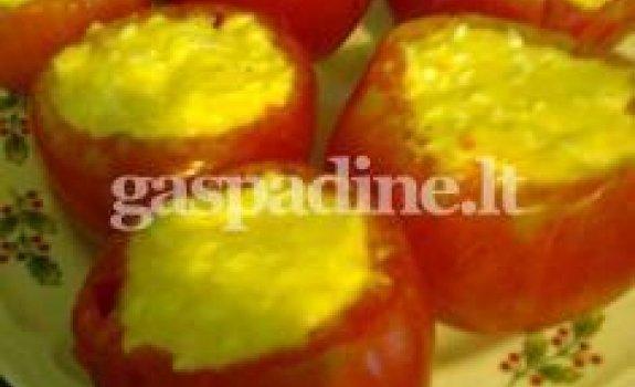 Sonatos įdaryti pomidorai