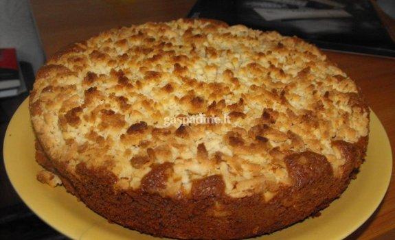 Draugės obuolių pyragas