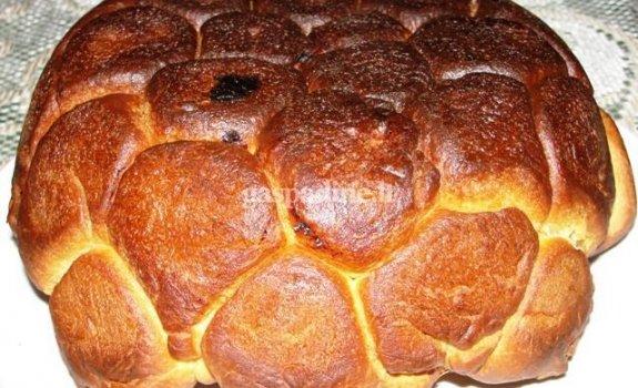 Pyragas su silke
