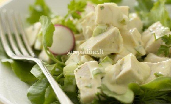 Gaiviosios vištienos salotos