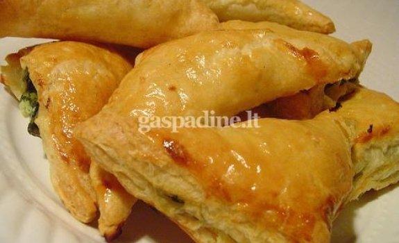 Pyragėliai su lašiša