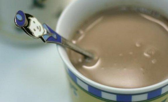 Karštas baltasis šokoladas