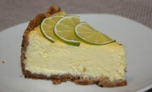 Varškės tortas su laimu
