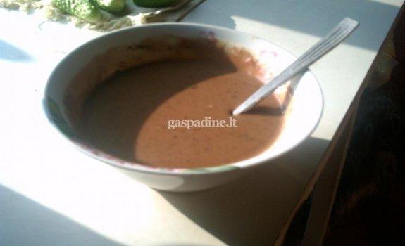 Šokolado skonio padažas