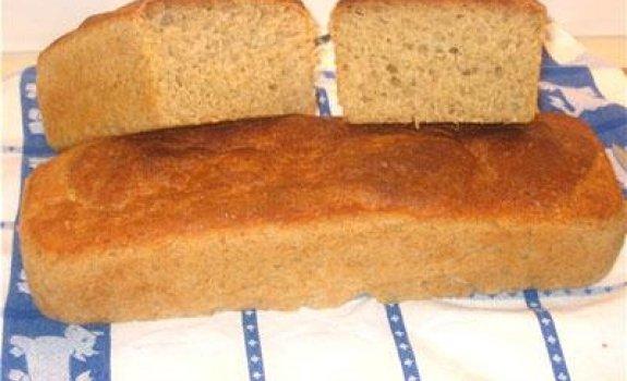 Duona iš kvietinių miltų su avižiniais dribsniais