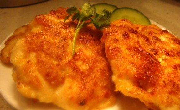 Vištienos kotletukai su sūriu