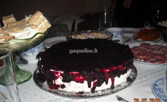 Maskarpones sūrio tortas