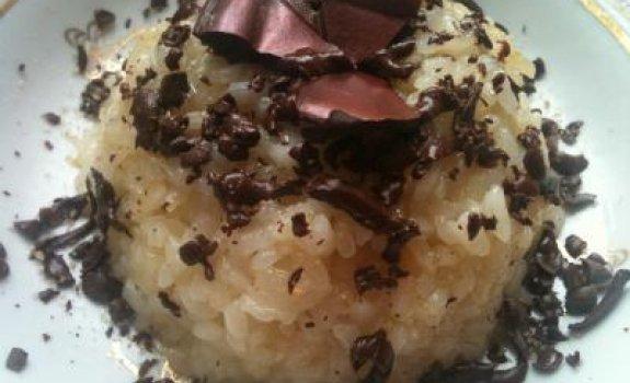 Šokoladinis rizotto